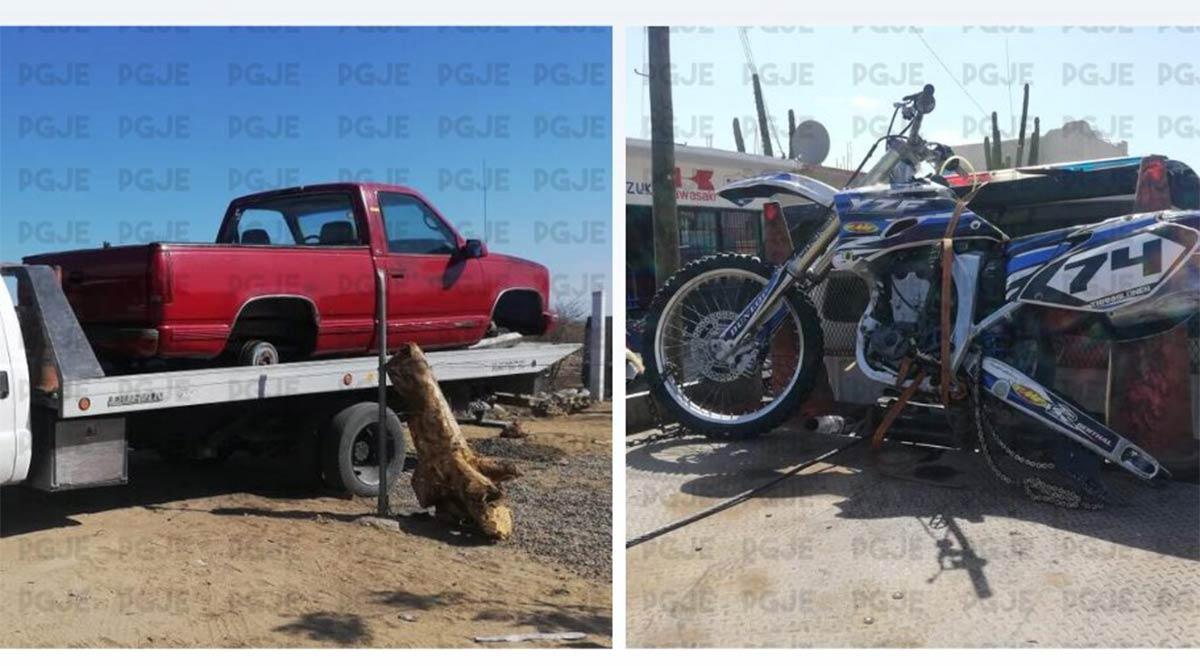 Recuperan en La Paz 2 vehículos robados