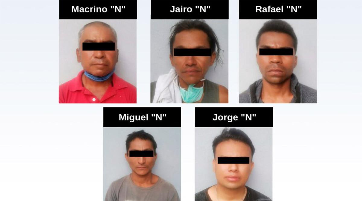 Prisión preventiva a 5 responsables de despojo con violencia en Los Cabos