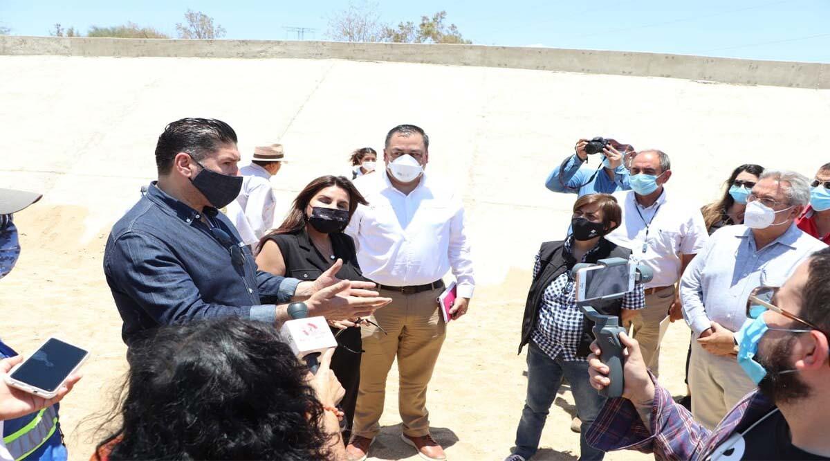Supervisan obra de protección de Chulavista y Puerto Nuevo en Los Cabos