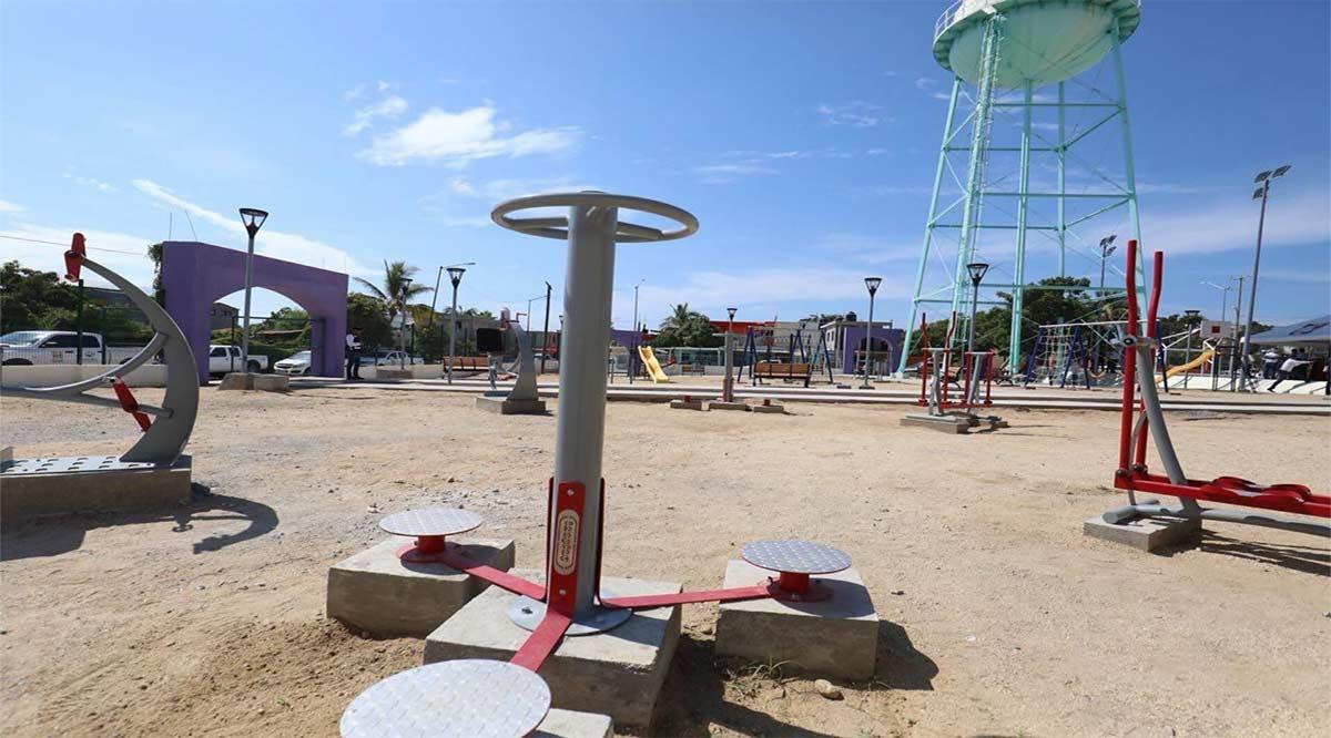 Se han invertido 13.9 mdp para mejorar parques en colonias populares de Los Cabos