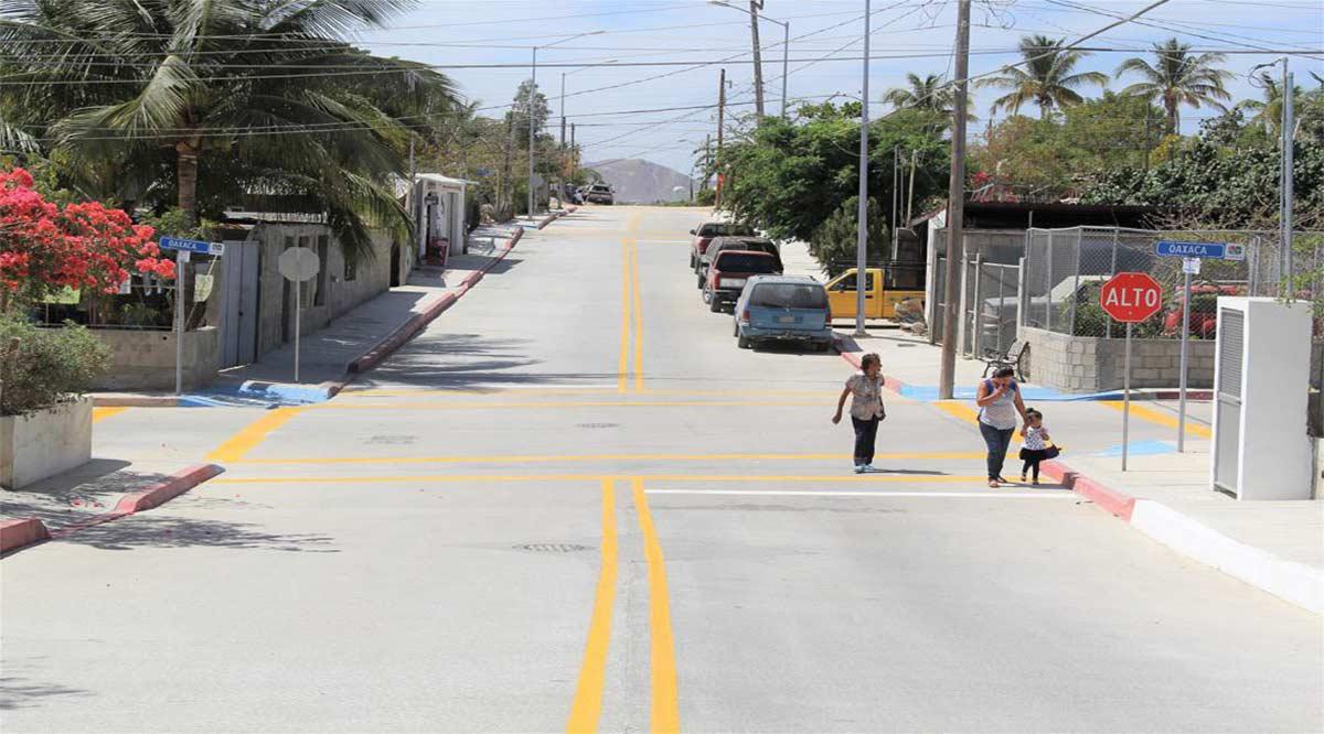 Se han invertido 260 mdp para pavimentar vialidades principales en Los Cabos
