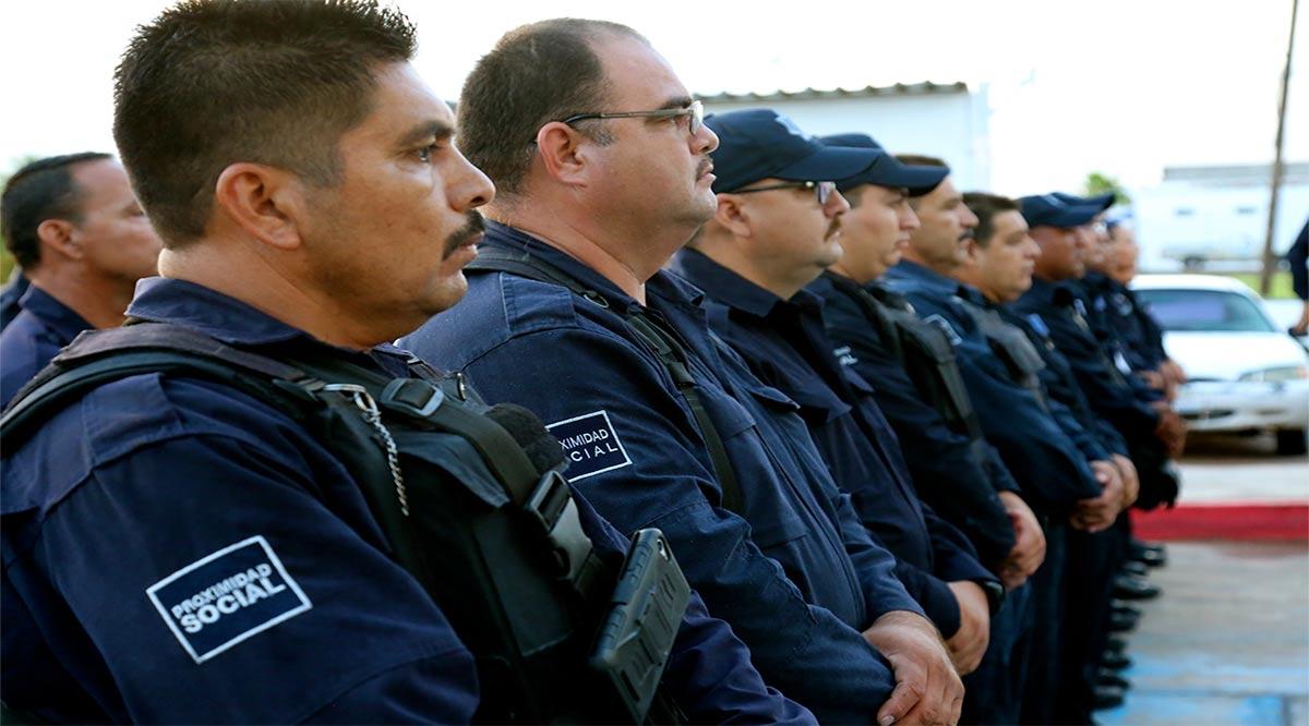 Recibirán aumento salarial en julio elementos de la policía de Comondú