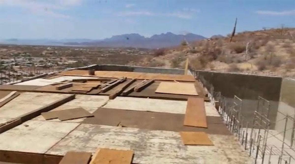 Reinicia construcción del tanque de almacenamiento de agua potable en Loreto