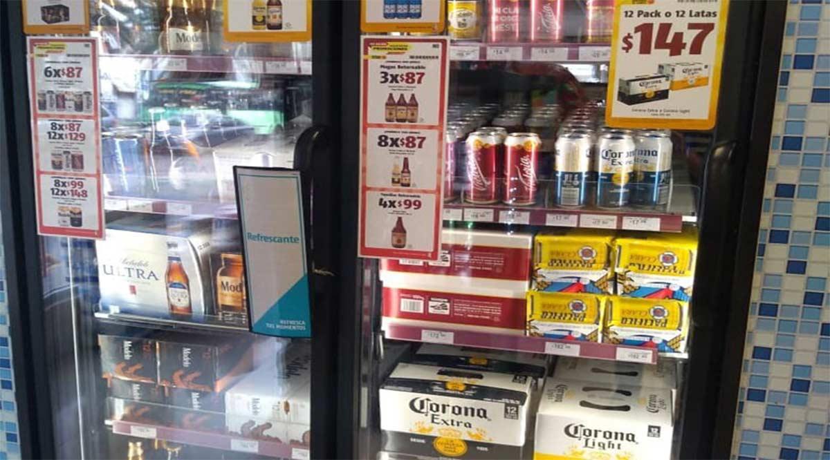 """Sorprenden al """"Chino Yuen"""" vendiendo cerveza fuera de horario"""