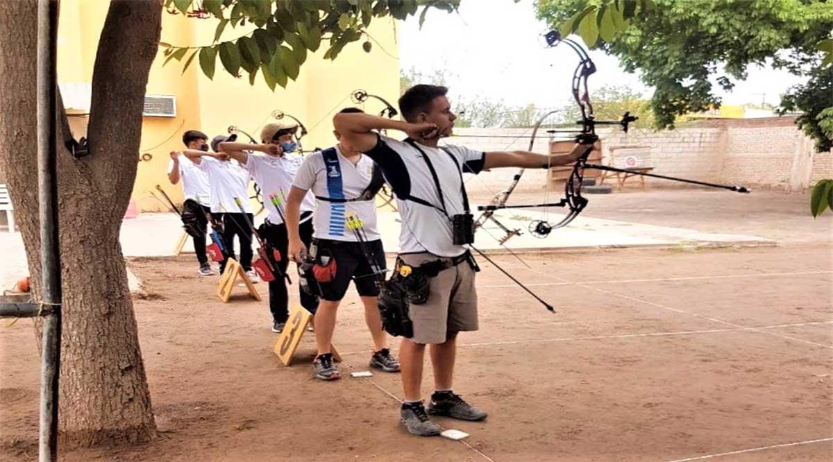 Se adelantó competencia de tiro con arco por pronóstico de mal tiempo en Comondú