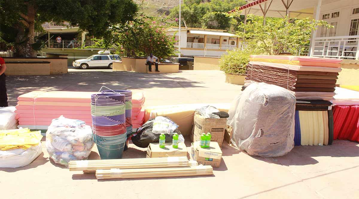 Entregan lote de materiales para atender emergencias al gobierno de Mulegé