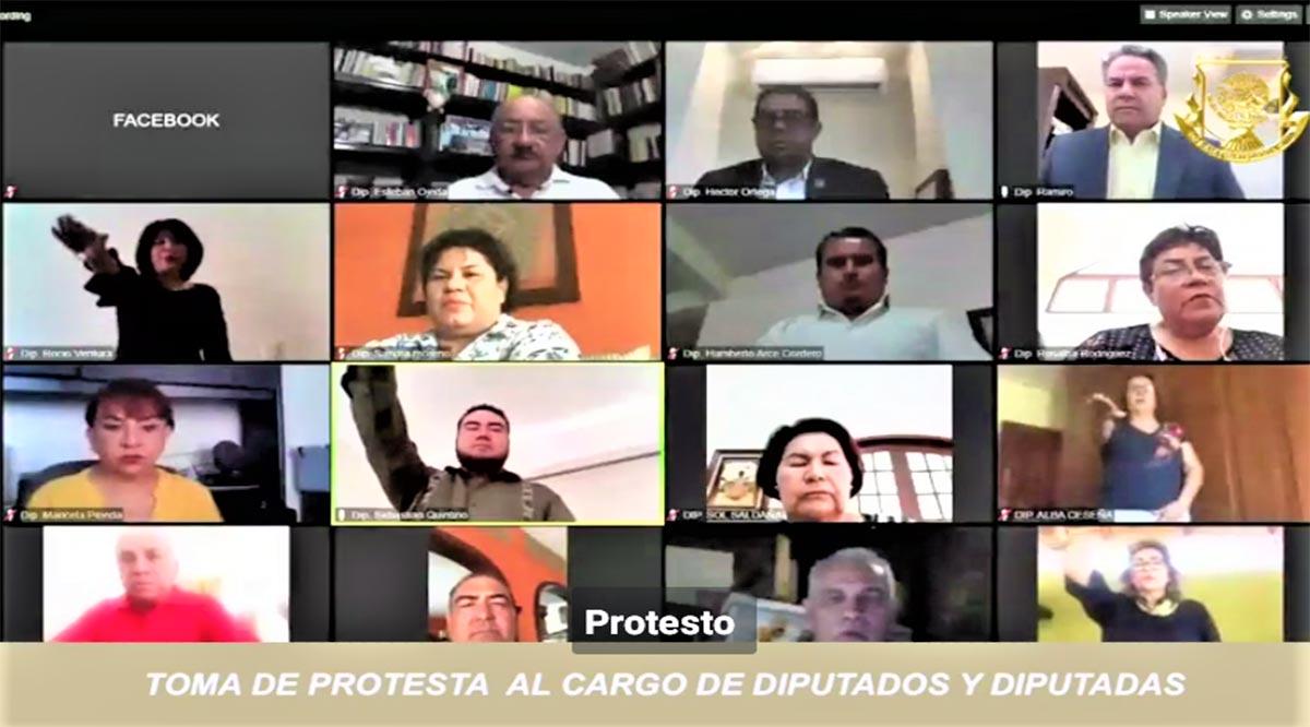 El Congreso de BCS un caos; morenistas destituyen a 5 diputados