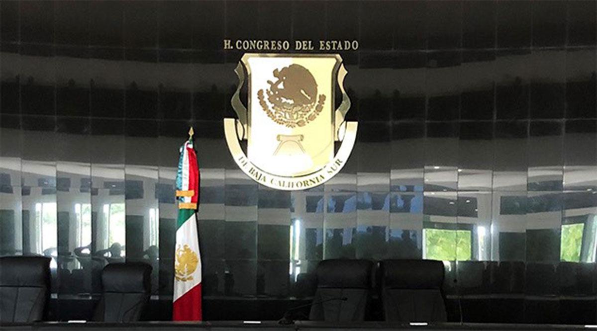 Ni a las sesiones virtuales asisten legisladores del Congreso de BCS