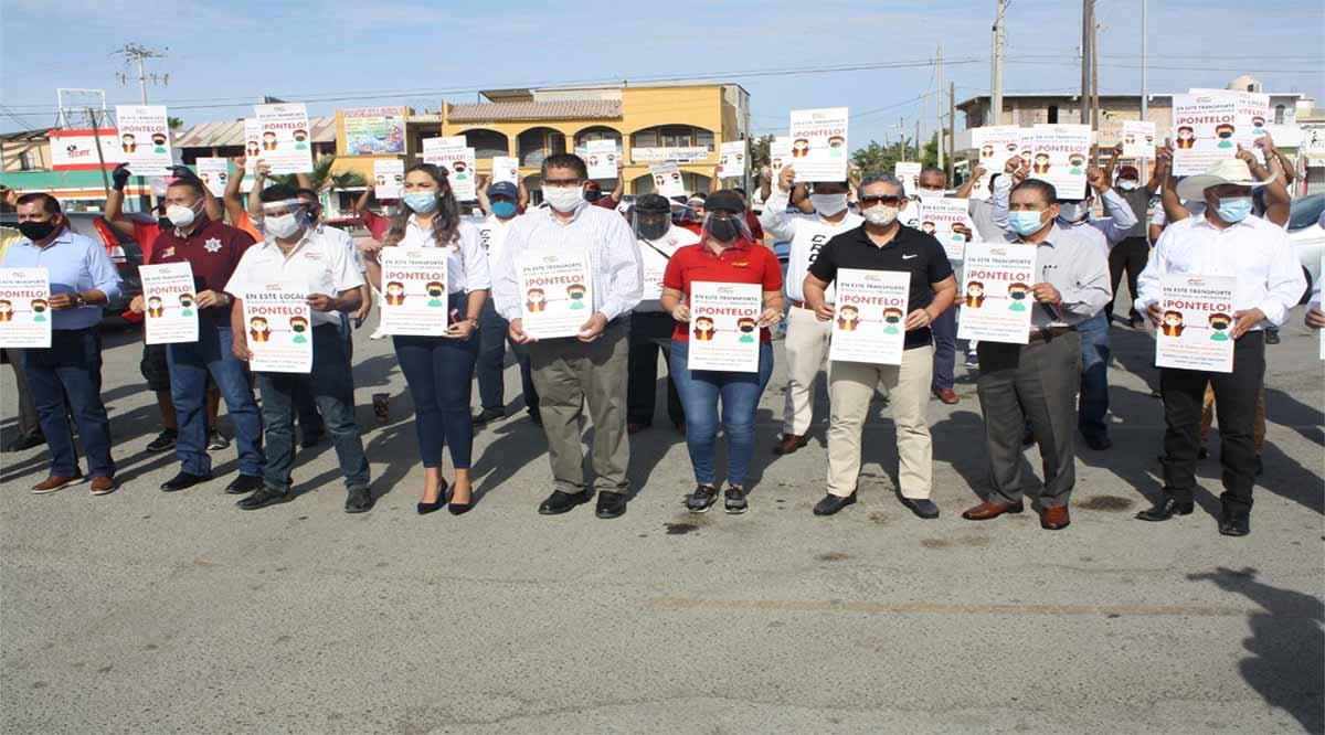 Se han repartido más de 40 mil cubrebocas en la Cruzada de Concientización en Los Cabos