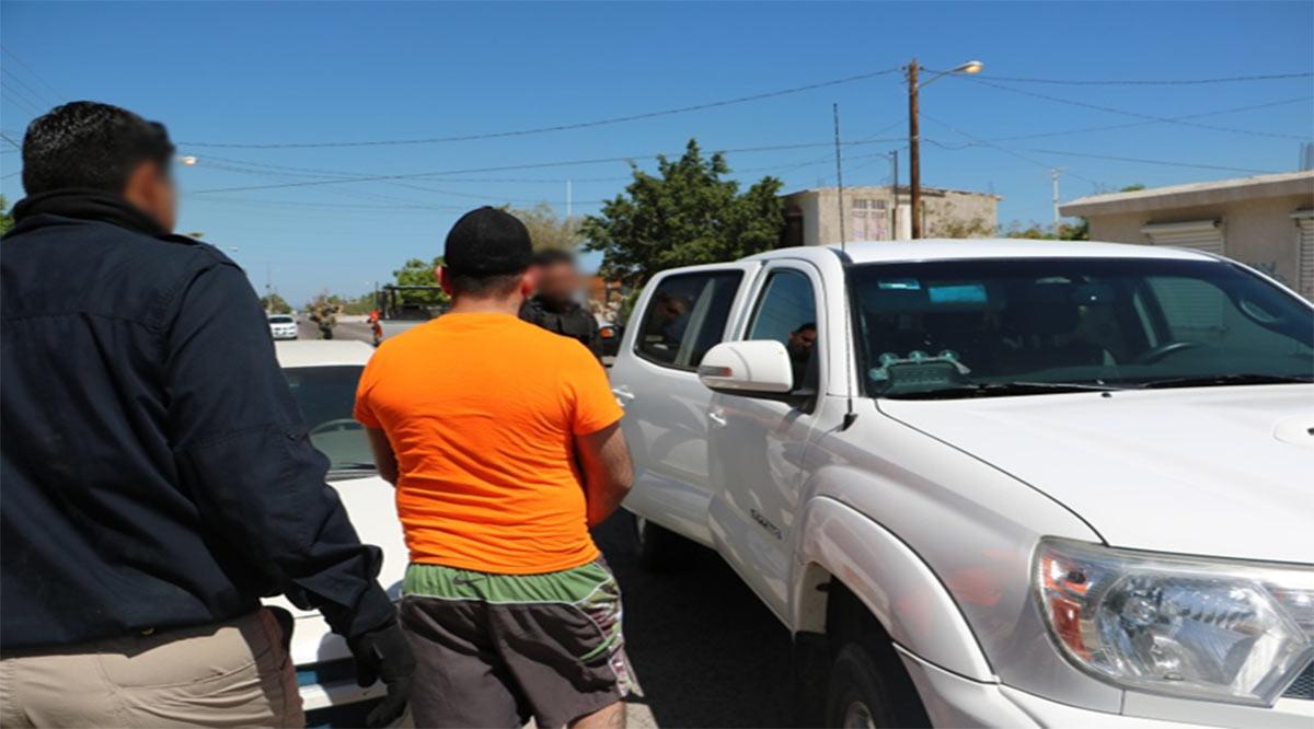 Lograron detener a 40 personas durante julio en BCS