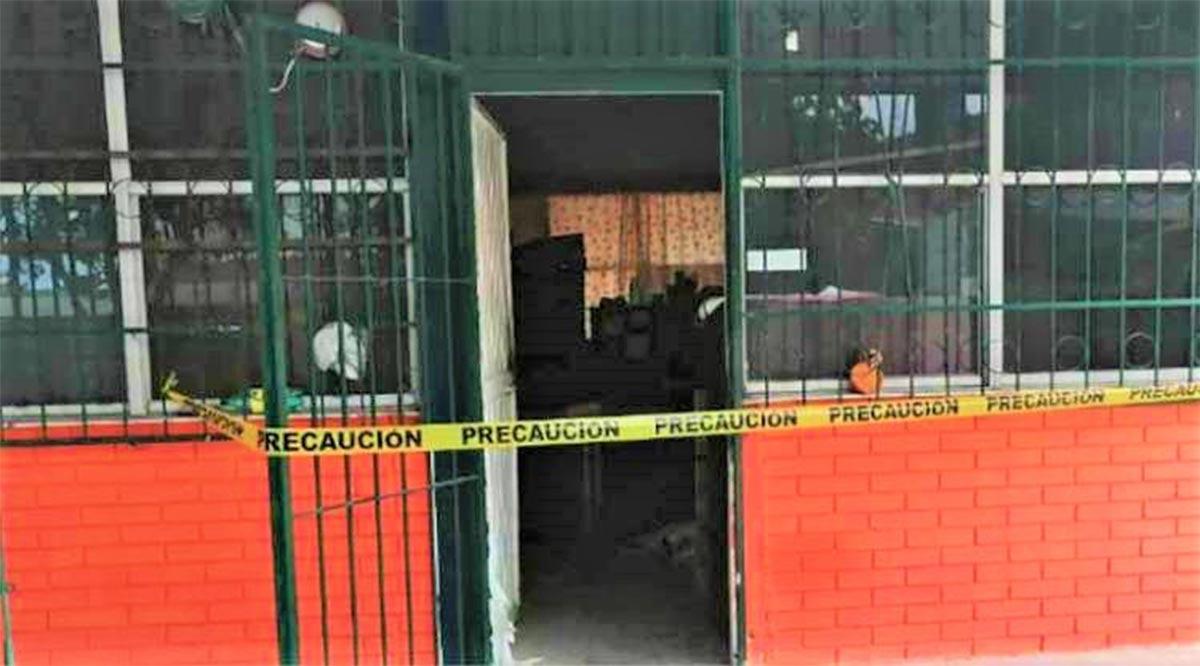 Encapuchados agreden a vigilante de escuela para robar