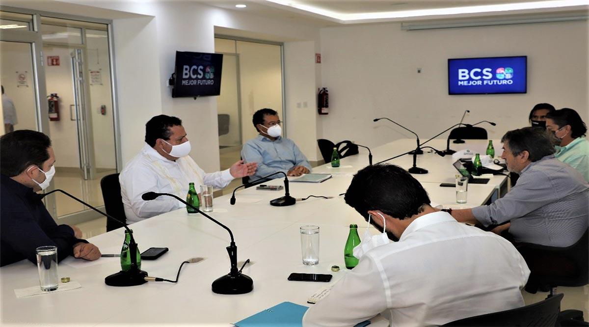 Gestiona gobierno de BCS ante Fonatur proyectos para Loreto y Los Cabos