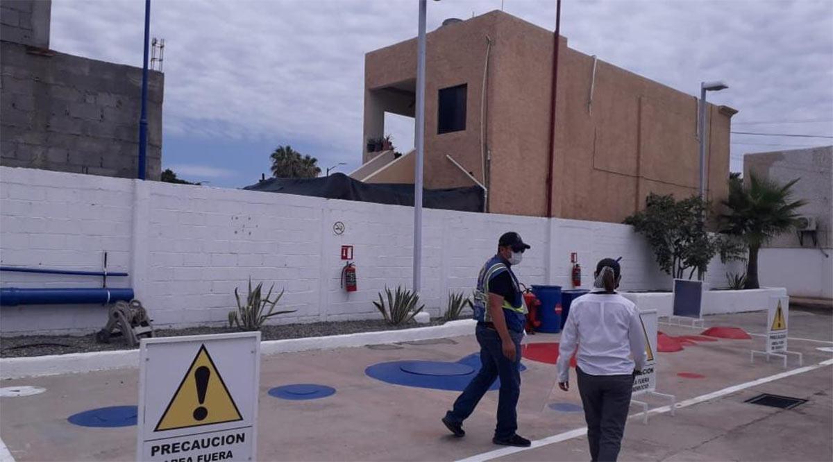 Inspeccionan despachadoras de combustible en Loreto