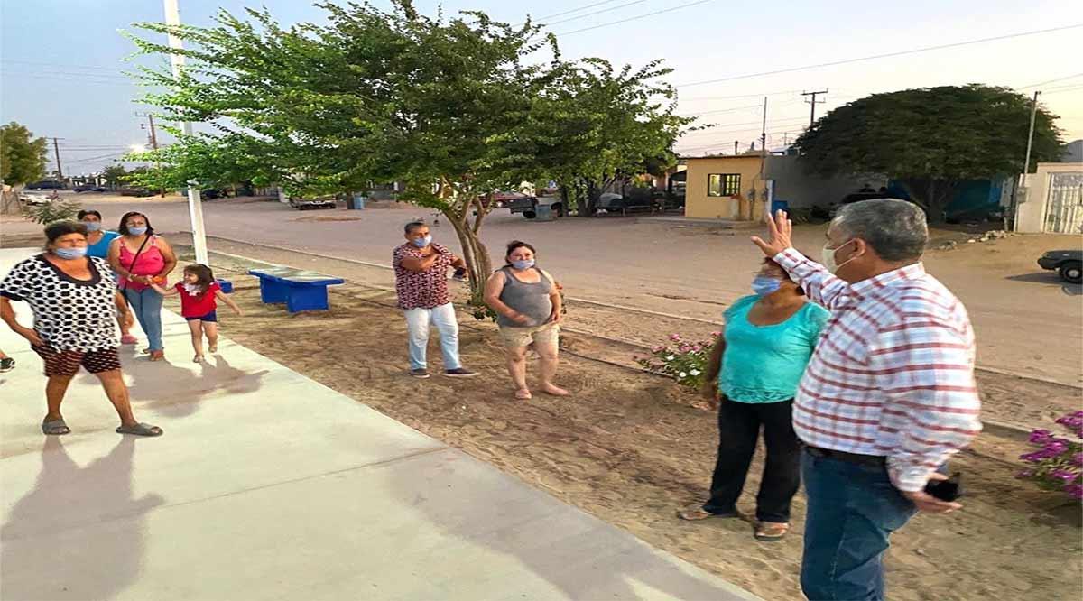 Entregan rehabilitación de parque en Ciudad Insurgentes