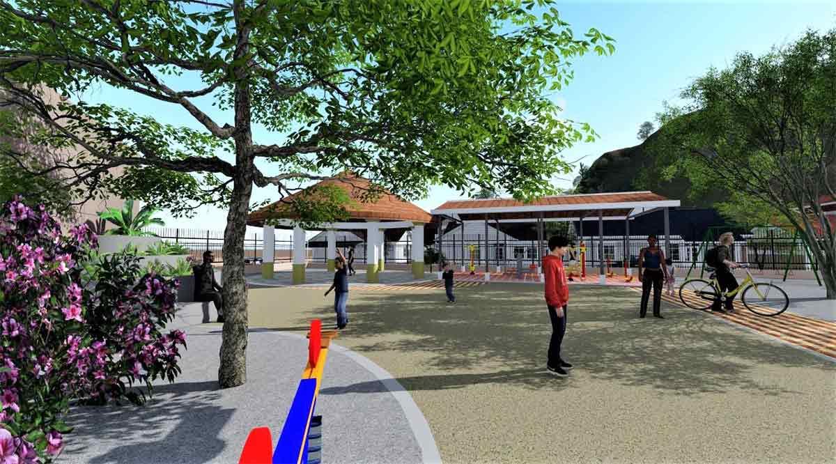 Anuncian en Loreto construcción de parque recreativo en Vista al Mar
