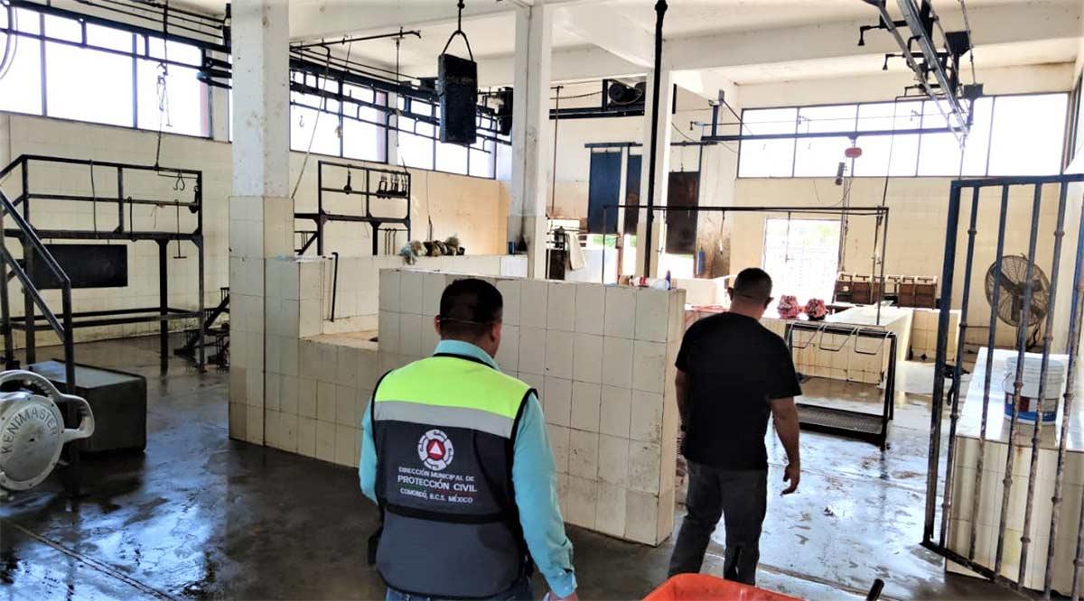 Cumple condiciones sanitarias el rastro de Comondú