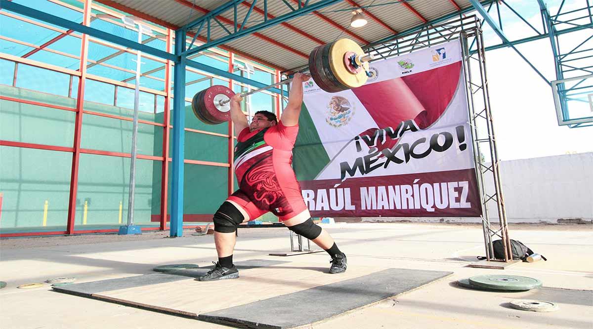 Ocupa el cuarto lugar Raúl Manríquez en Copa Internacional de Halterofilia
