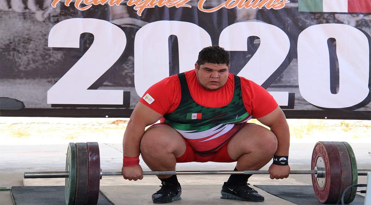 Se prepara Raúl Manríquez para la Copa de Levantamiento de Pesas