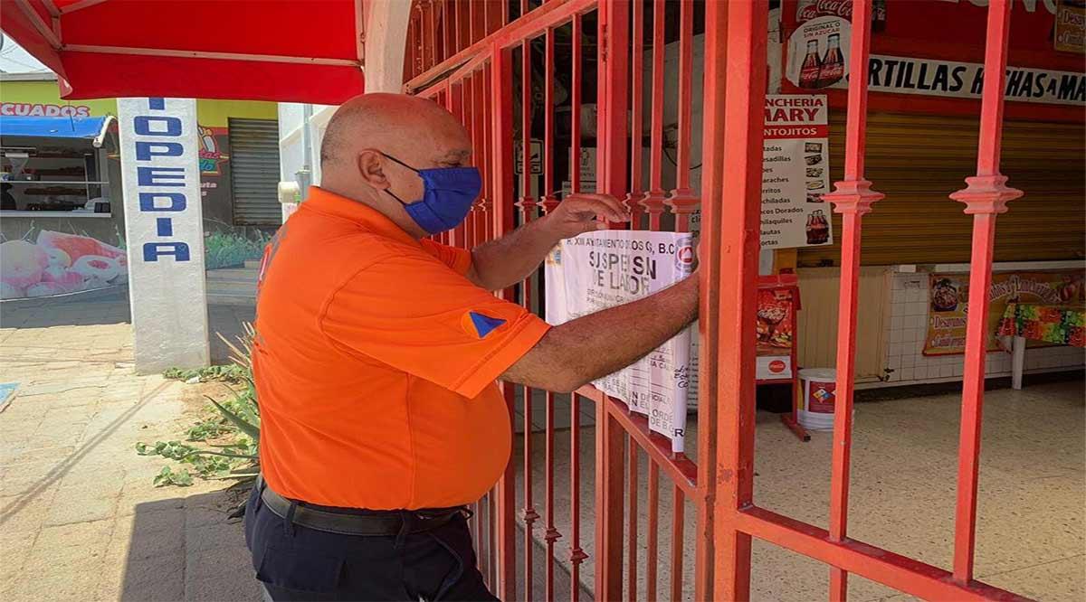 Han sancionado a 8 negocios en Los Cabos por incumplir con los protocolos de salud
