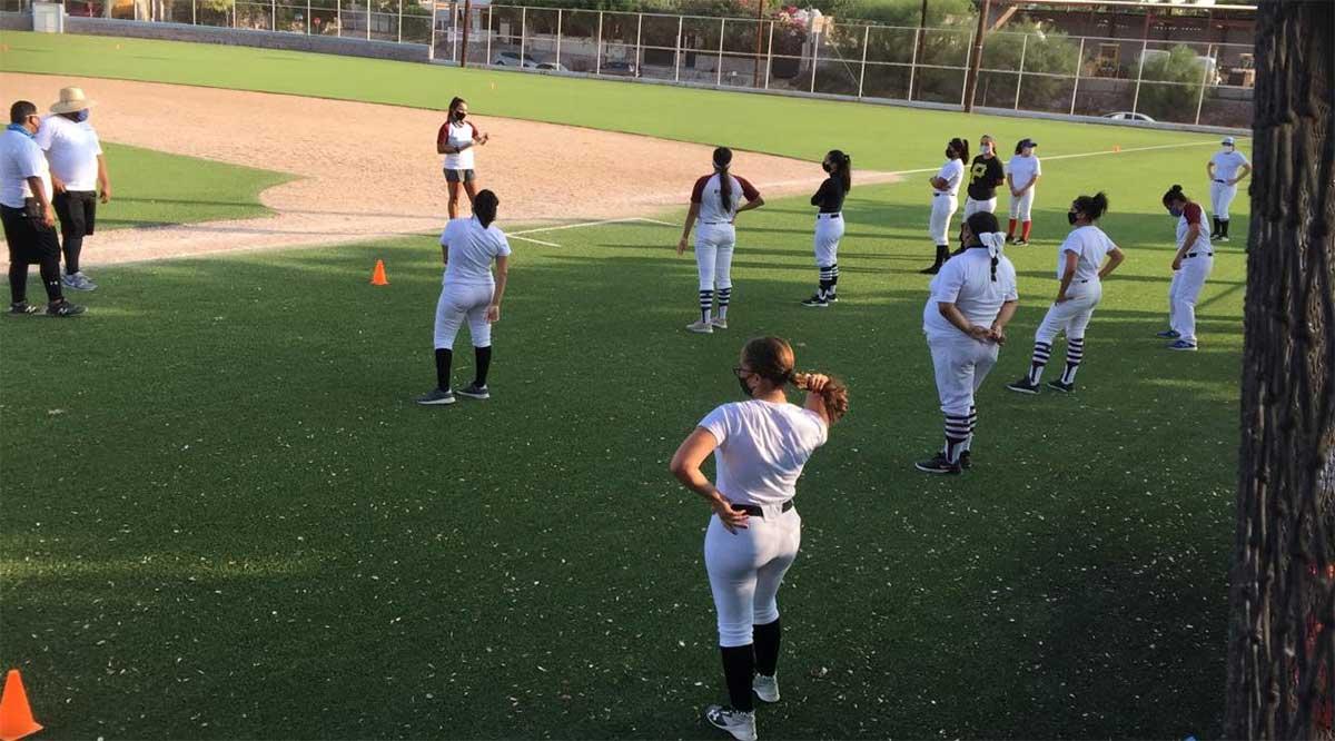 Concluyó primera etapa de visorias para la Liga de Beisbol Femenil en BCS