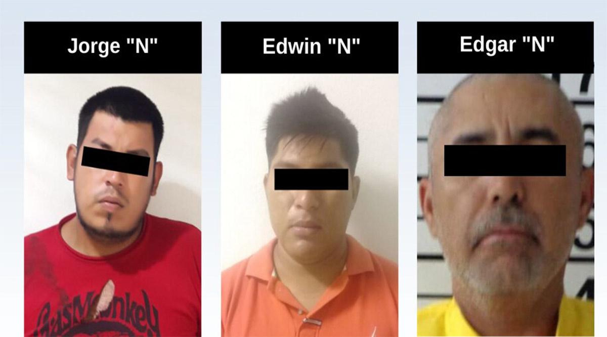 Detienen a 3 personas en La Paz