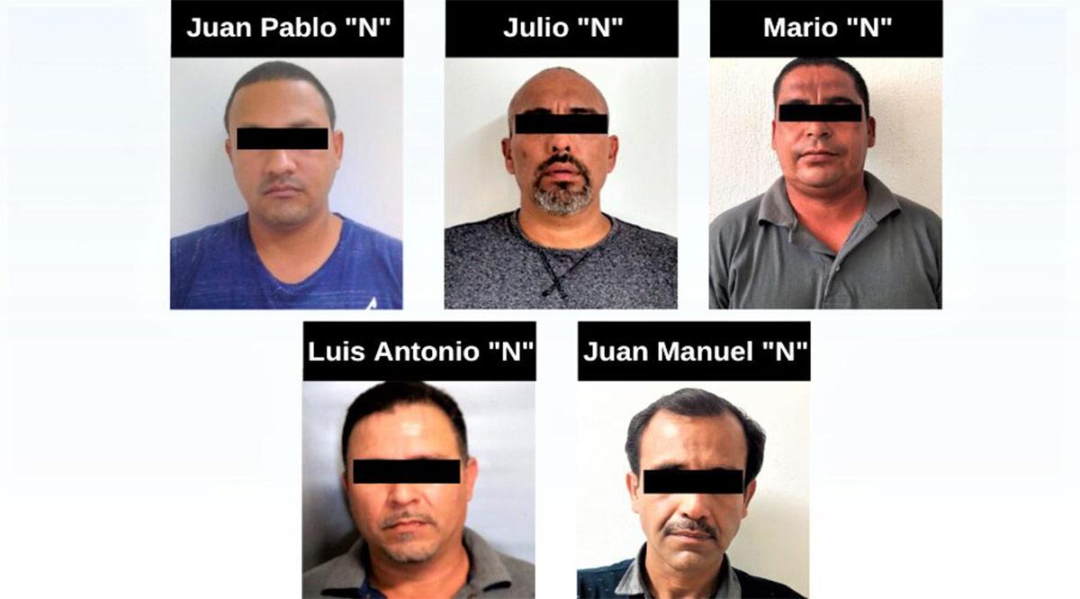 Detienen a 5 personas por la comisión de diversos delitos en BCS