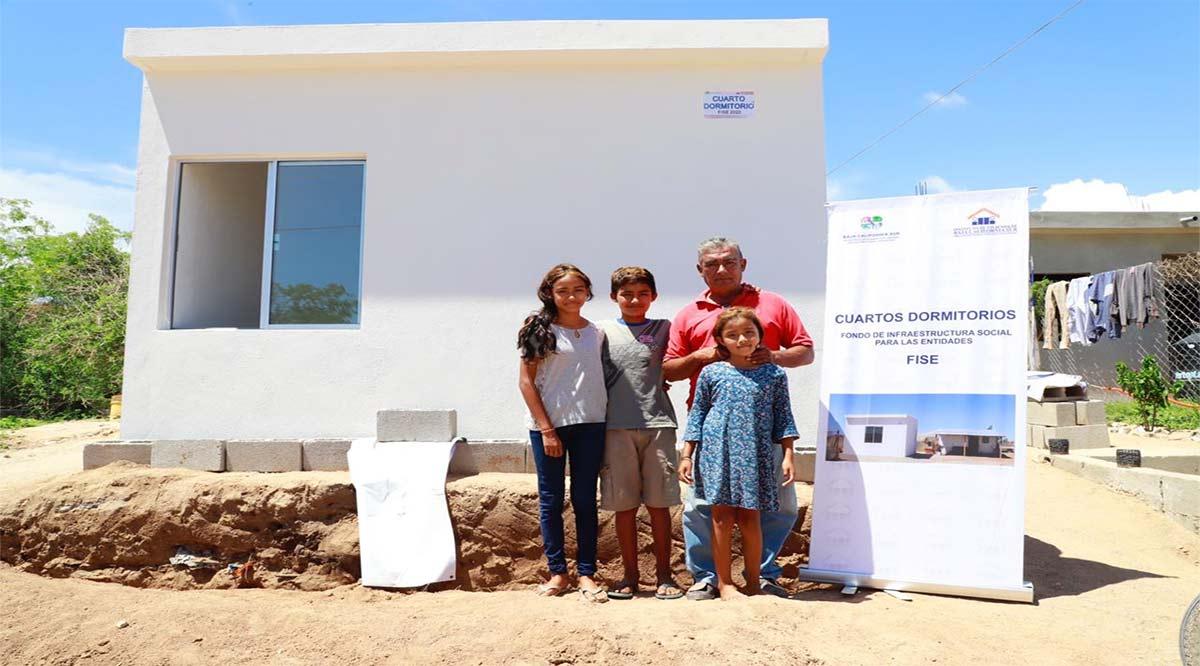 Benefician a 112 habitantes de Los Cabos con diversos apoyos de vivienda