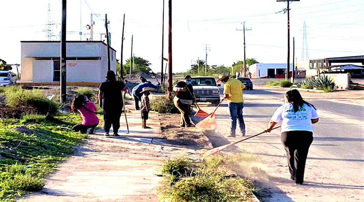 Efectuaron jornada de descacharrización en Ciudad Insurgentes