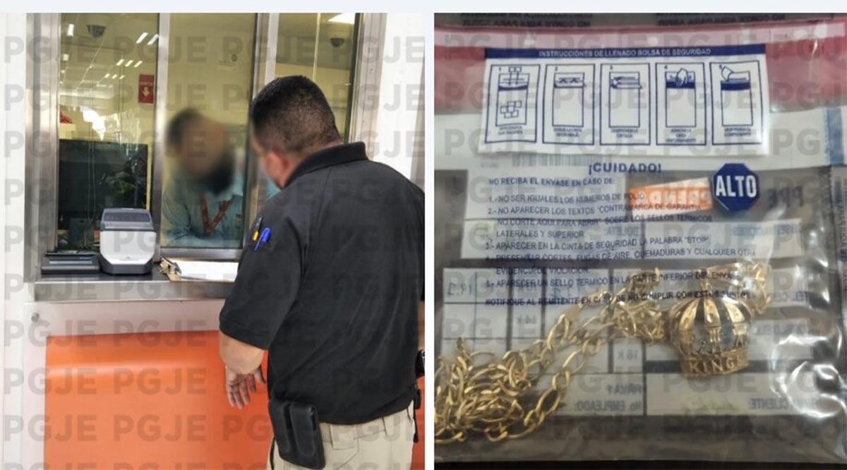 Recuperan joyería con reporte de robo en cateo a Casa de Empeño