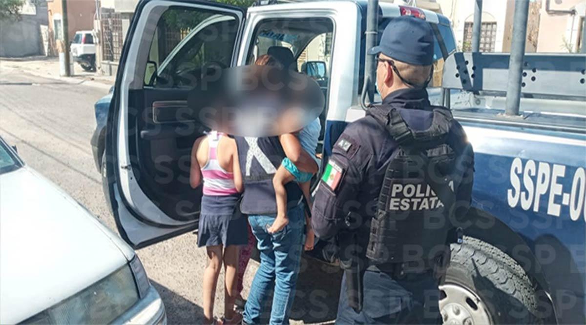 Localizan a 2 menores extraviados en La Paz