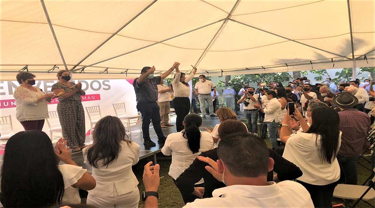Rosa Delia Cota, Armida Castro y Rubén Muñoz irán juntos para construir el futuro de BCS