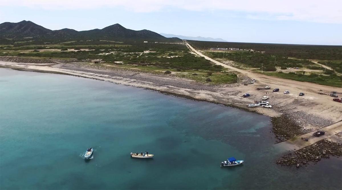 Reportan sospechosa presencia de remolque para embarcación en Bahía de Los Sueños