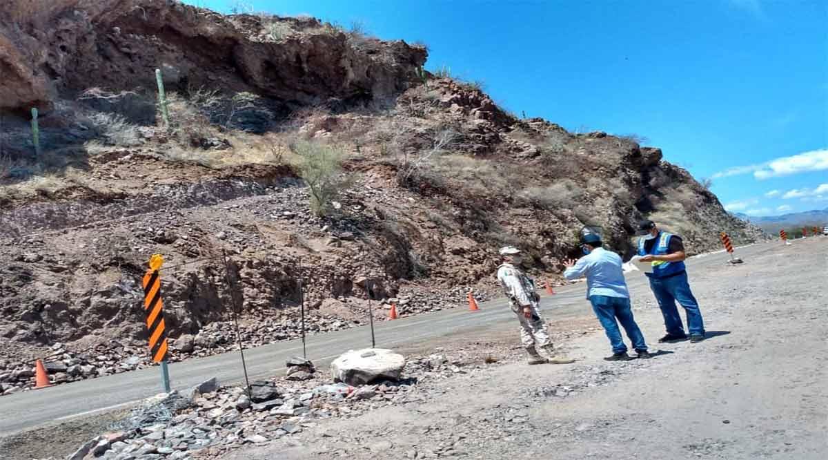 Cerrarán temporalmente el tramo carretero Puerto Escondido-Loreto