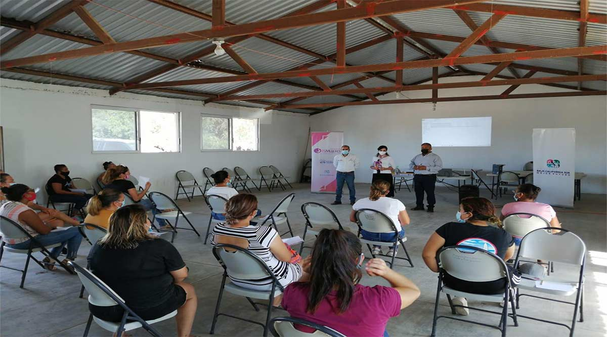 Facilita ISMujeres acceso a créditos a la palabra a mujeres de Comondú