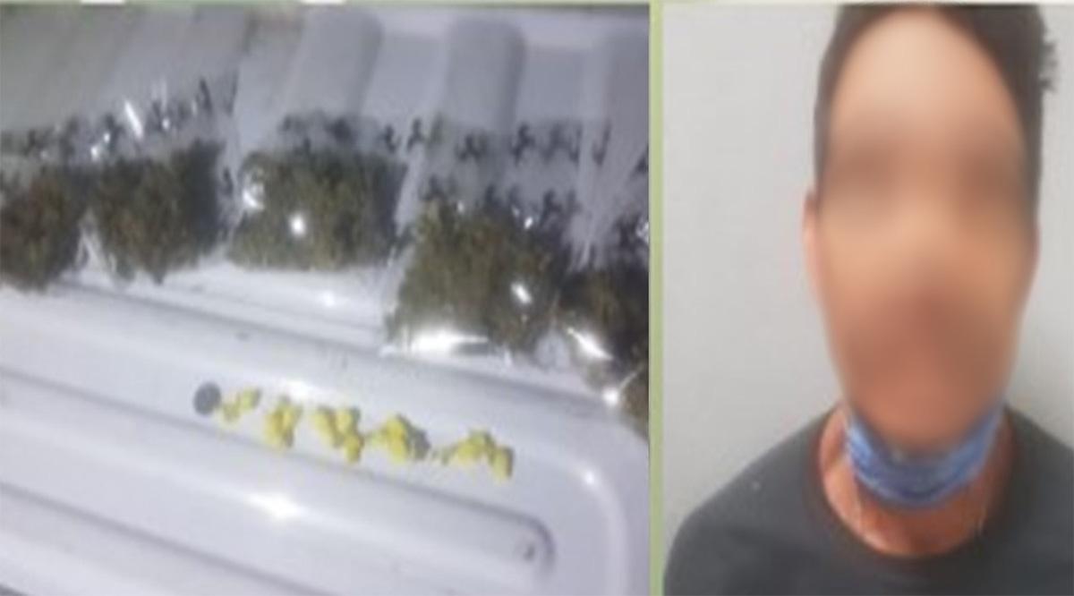 Detienen a sujeto por venta narcóticos en La Paz