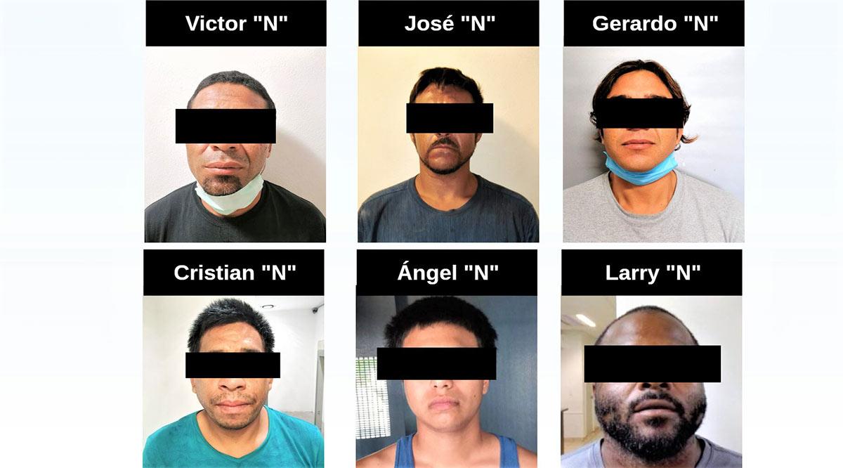 Detienen a 6 personas; 2 de ellas requeridas por homicidio en EU