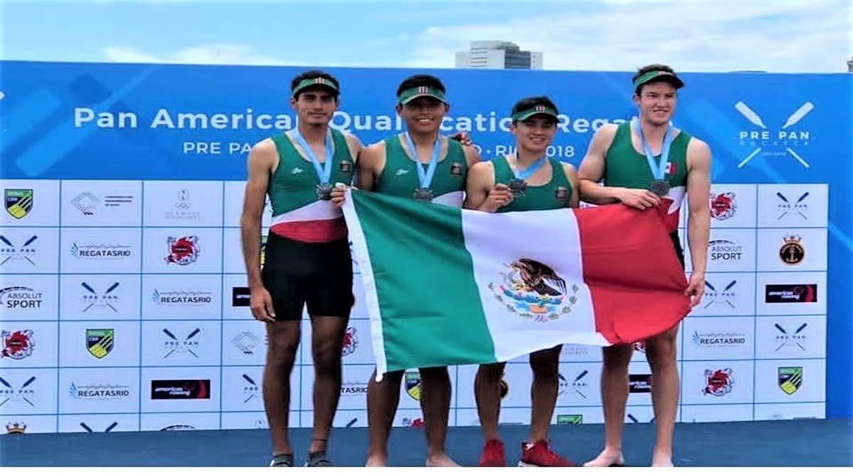 Recibe Miguel Carballo medalla Panamericana de broce