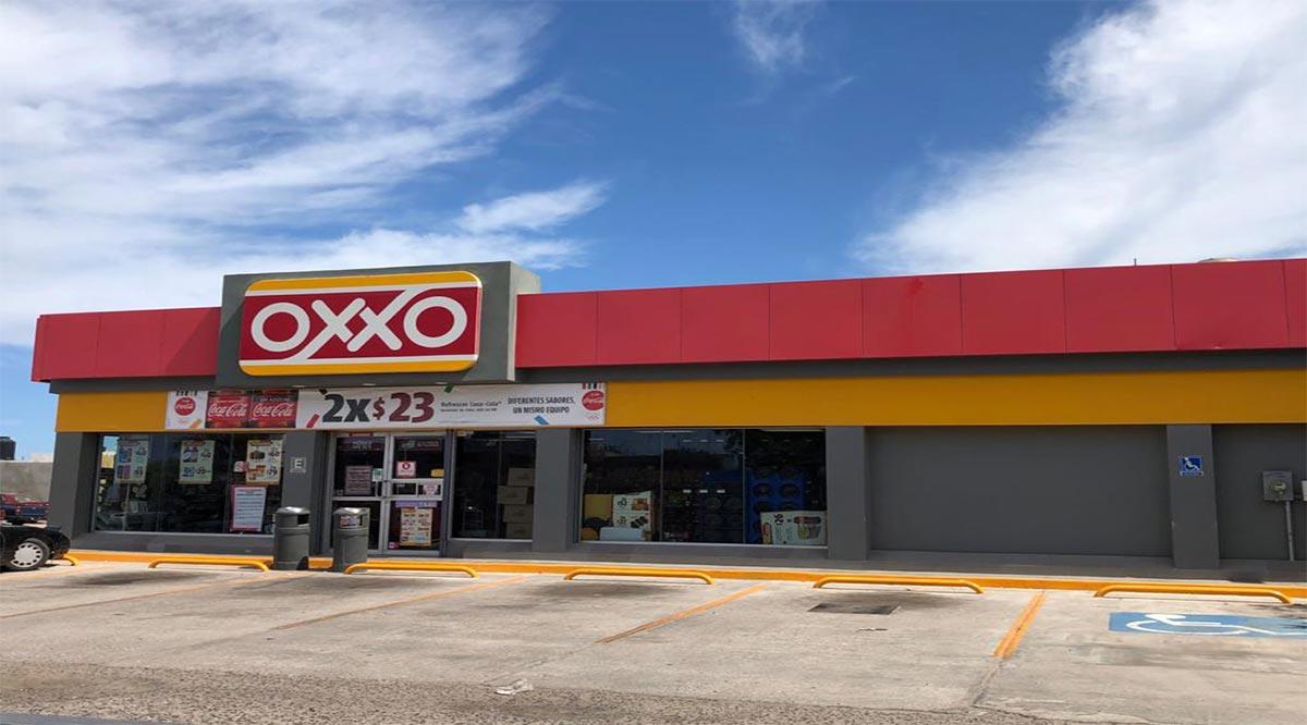 Asaltan tiendas Oxxo y La Hacienda
