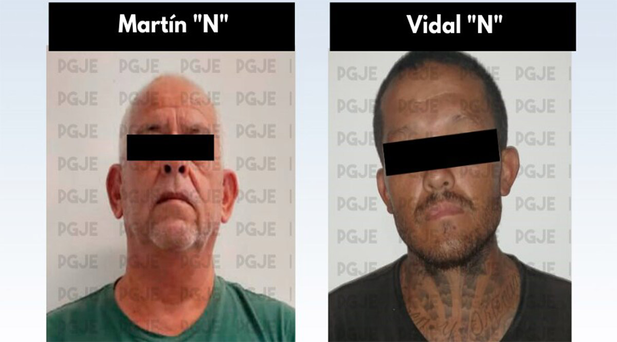Aseguraron a 2 hombres en posesión de 650 dosis de droga