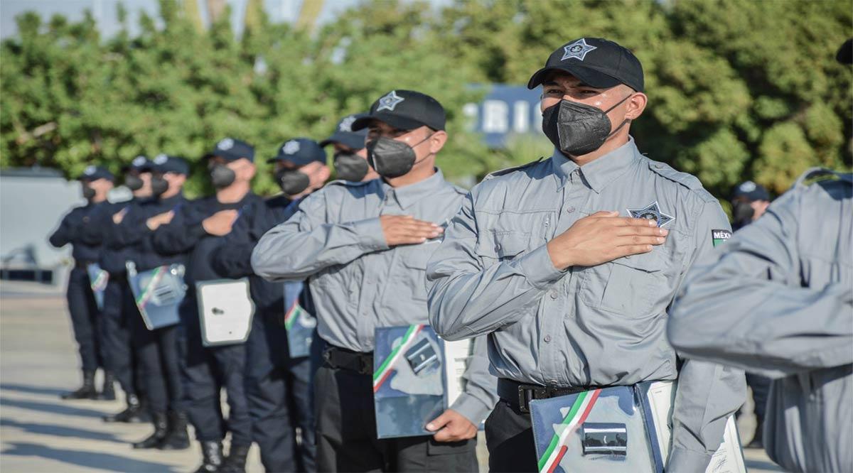 Permitirá la carrera policial dignificar la labor de la Policía Estatal y Penitenciaria
