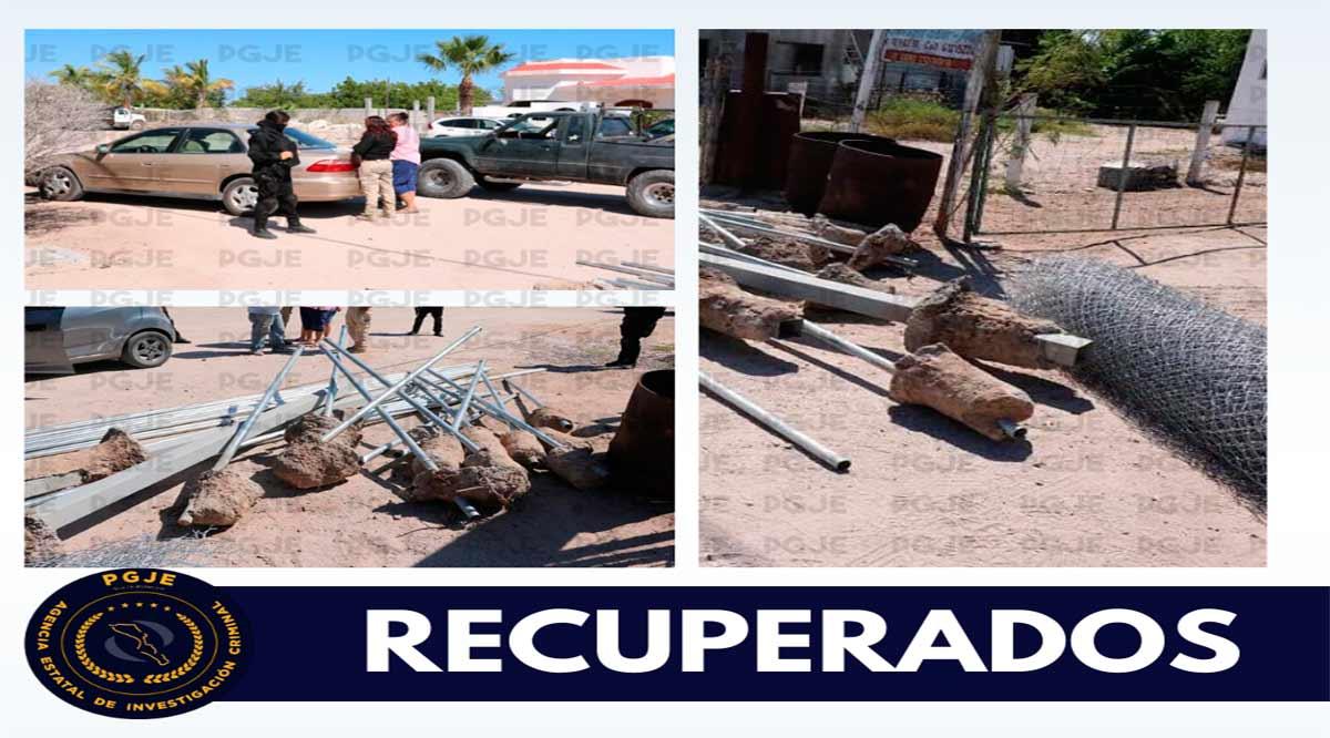 Recuperan objetos con reporte de robo en La Paz