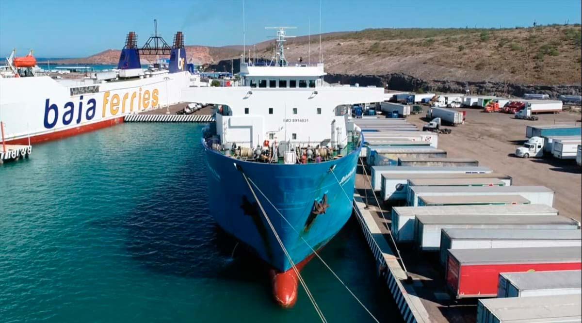 Conexión marítima Santa Rosalía-Guaymas beneficiará a sectores productivos de Mulegé