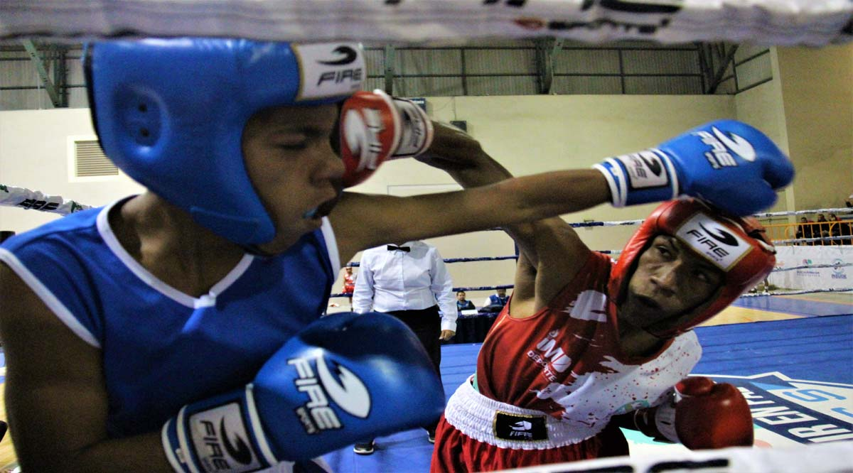 Entrenan boxeadores de BCS ante posible nacional en marzo del 2021