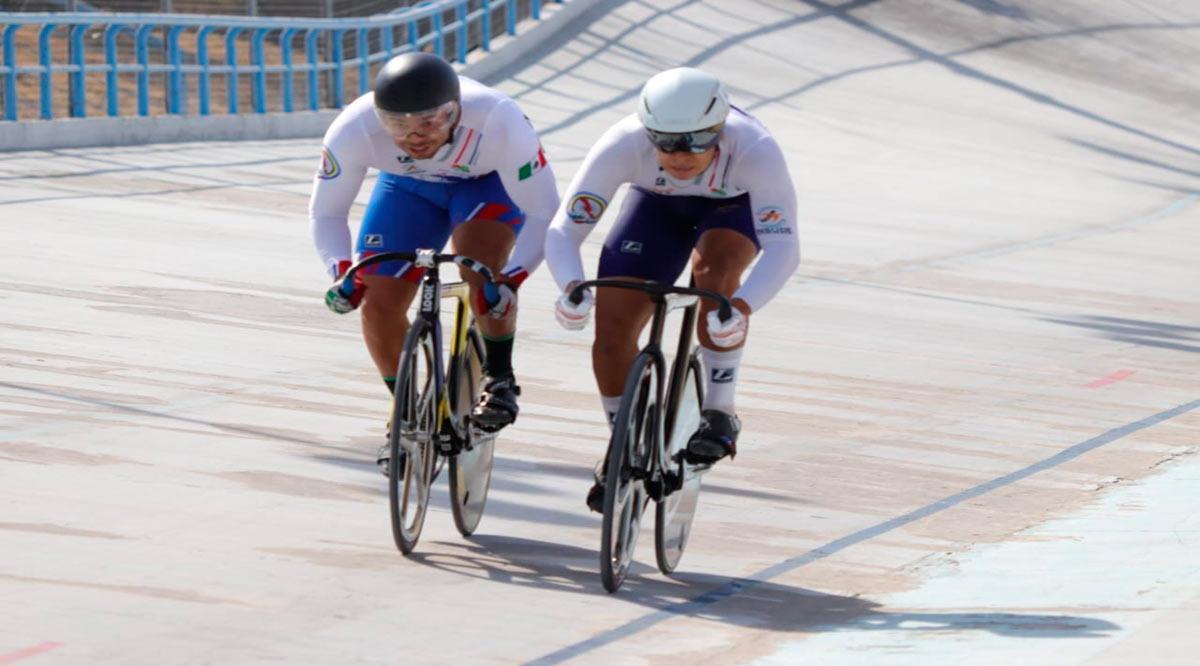 Ciclistas de BCS cumplieron con creces en el Campeonato Nacional de Pista