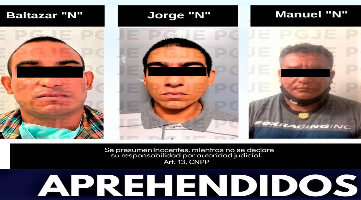 Detienen a 4 personas por la comisión de diversos delitos en BCS