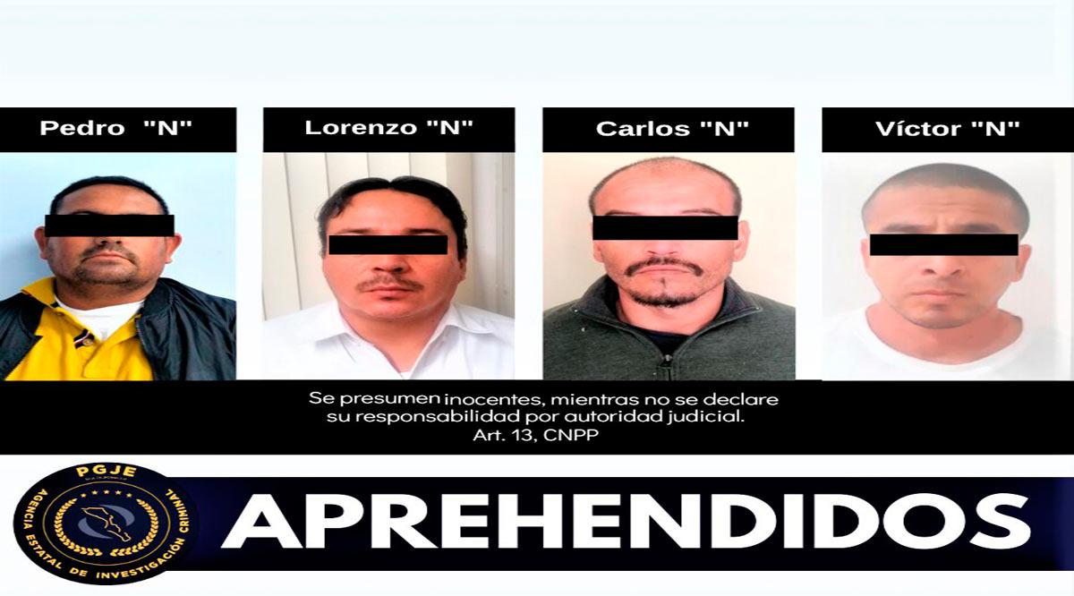 Aprehenden a 4 personas y recuperan artículos con reporte de robo en BCS