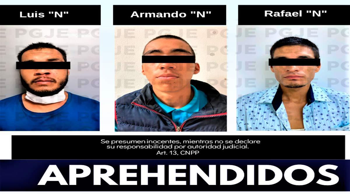Detienen a 2 personas en La Paz y 1 en Los Cabos