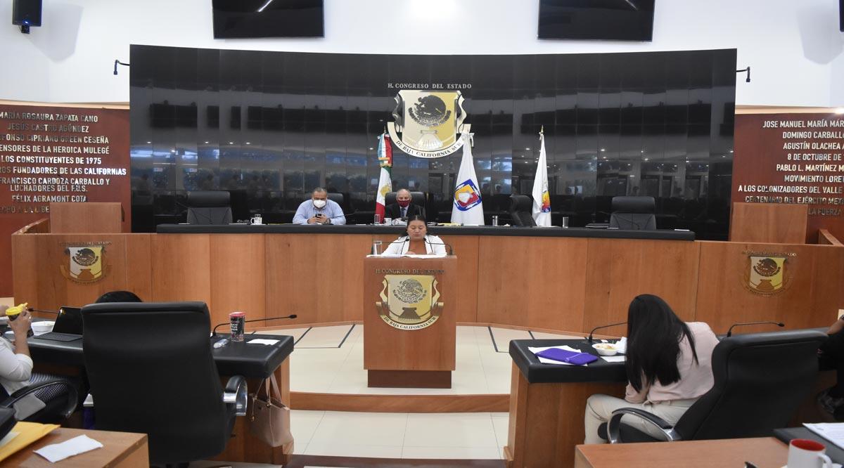 Declara Congreso de BCS improcedente período de 6 años