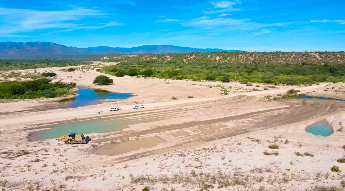 Lleva un 35% el encauzamiento del arroyo de Santiago