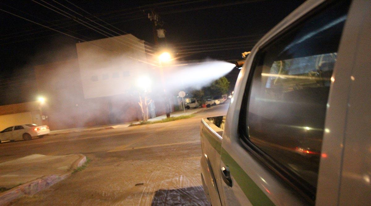 Fumigan contra el mosco transmisor de dengue en La Paz y Los Cabos